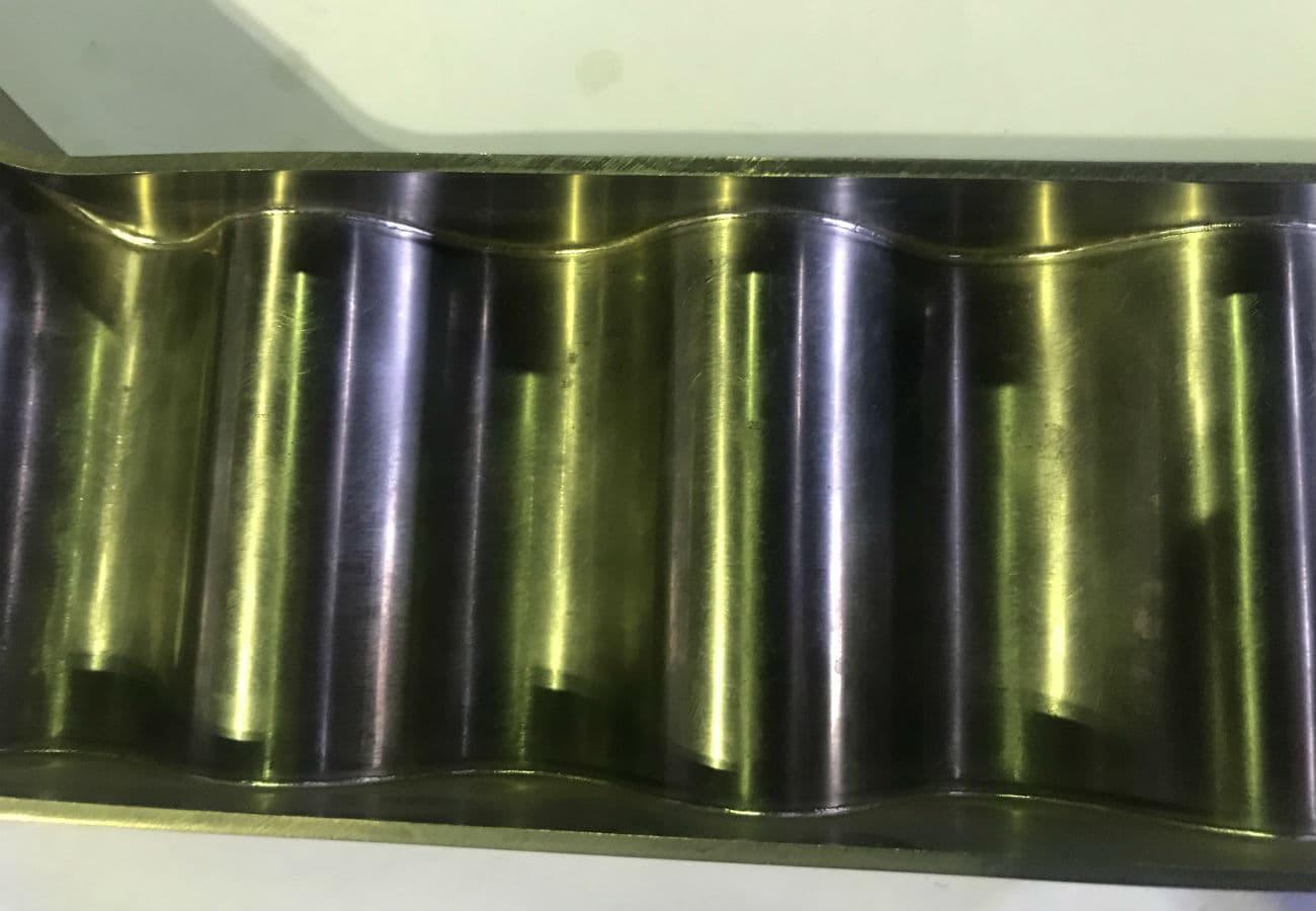 Електронно-променеве зварювання елементу лонжерона з титану - 02