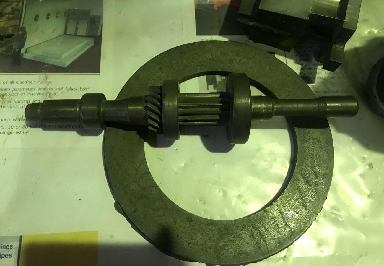 Корпус якоря двигуна зі сталі