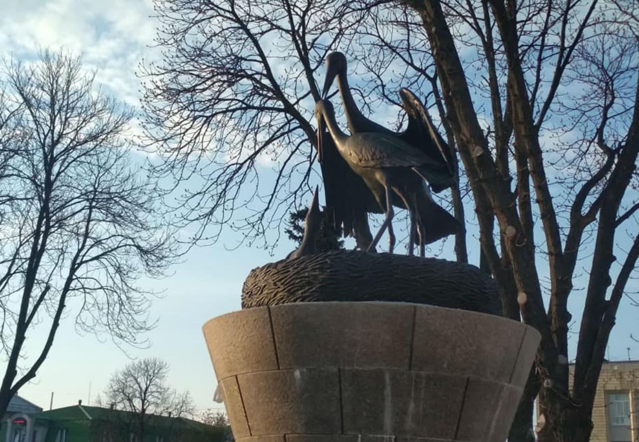 Скульптура «Лелек» з бронзи