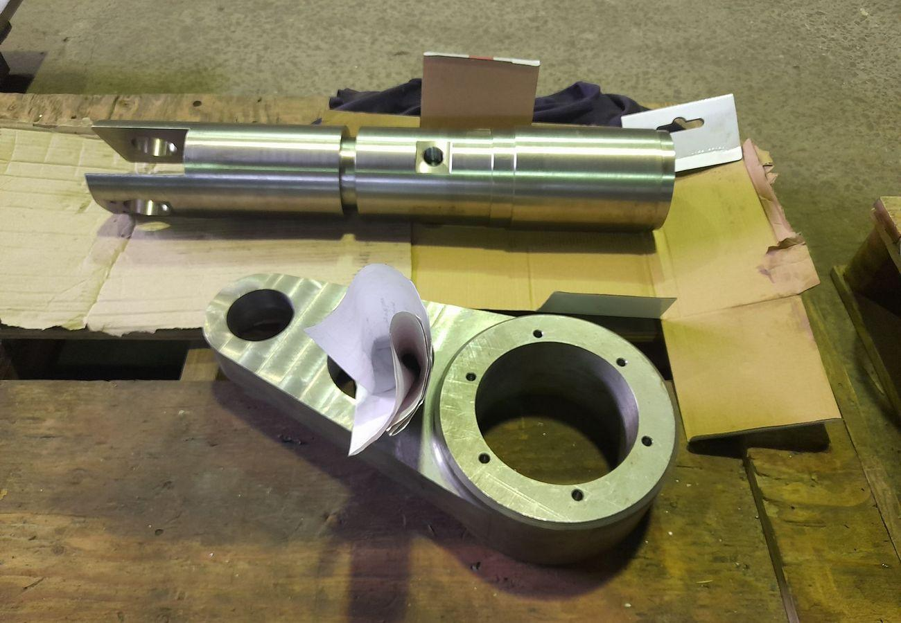 Изготовление механической части привода из нержавеющей стали