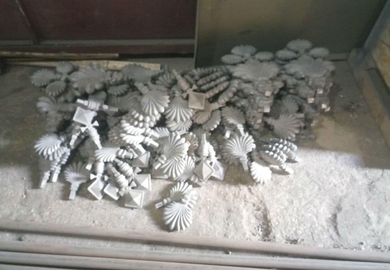 Виготовлення металевих елементів декору вагою від 2 до 10 кг
