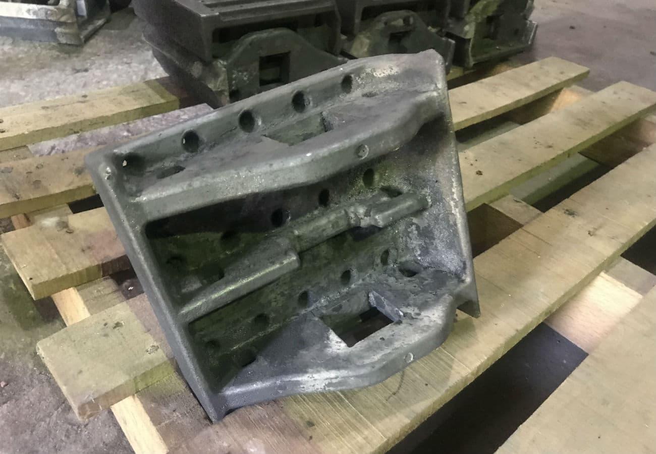 Изготовление колосника для твердотопливных котлов из жаропрочного чугуна марки ЧХ3 методом ЛГМ