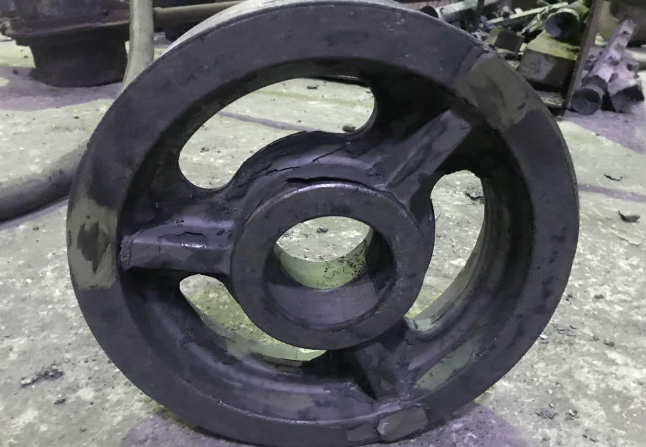 Шків ліфтовий з чавуну СЧ30, вагою 30 кг