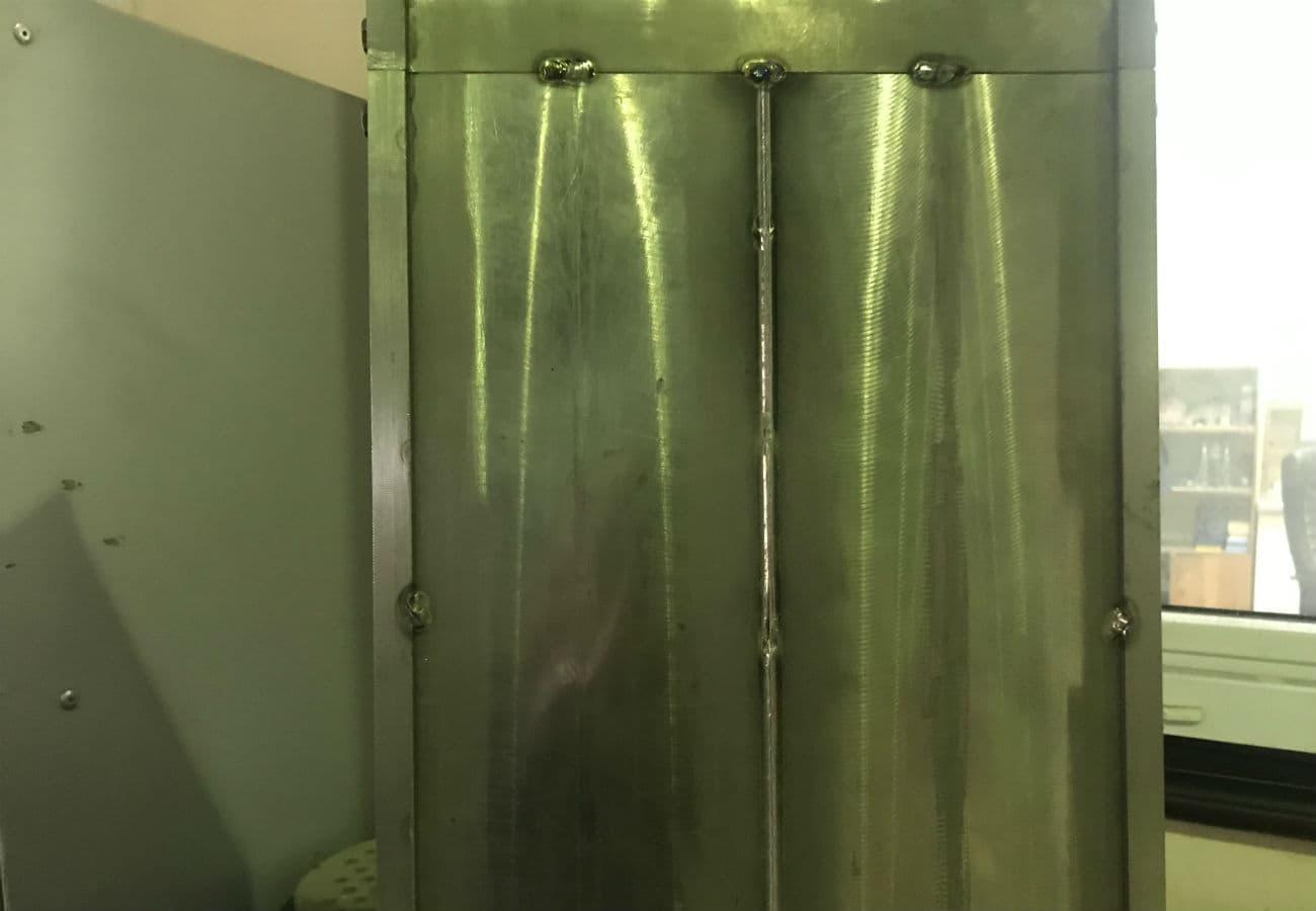 Электронно-лучевая сварка элемента крыла боинга из титана