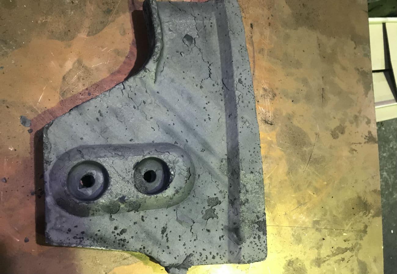 Лопатка для мішалки із зносостійкого чавуну вагою 14 кг