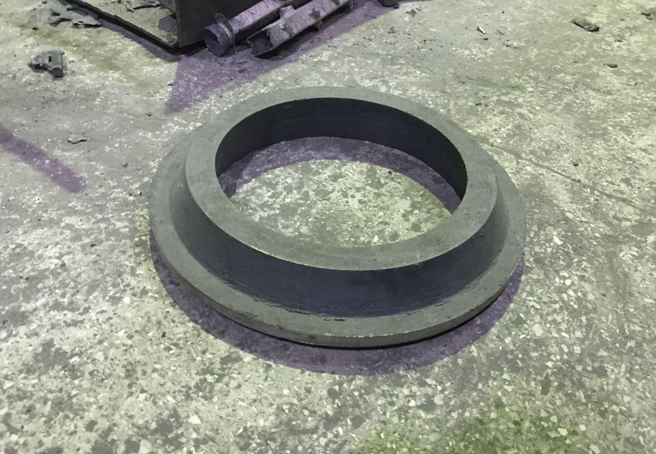 Заготовка коронної шестерні з чавуну СЧ30, вагою 55 кг