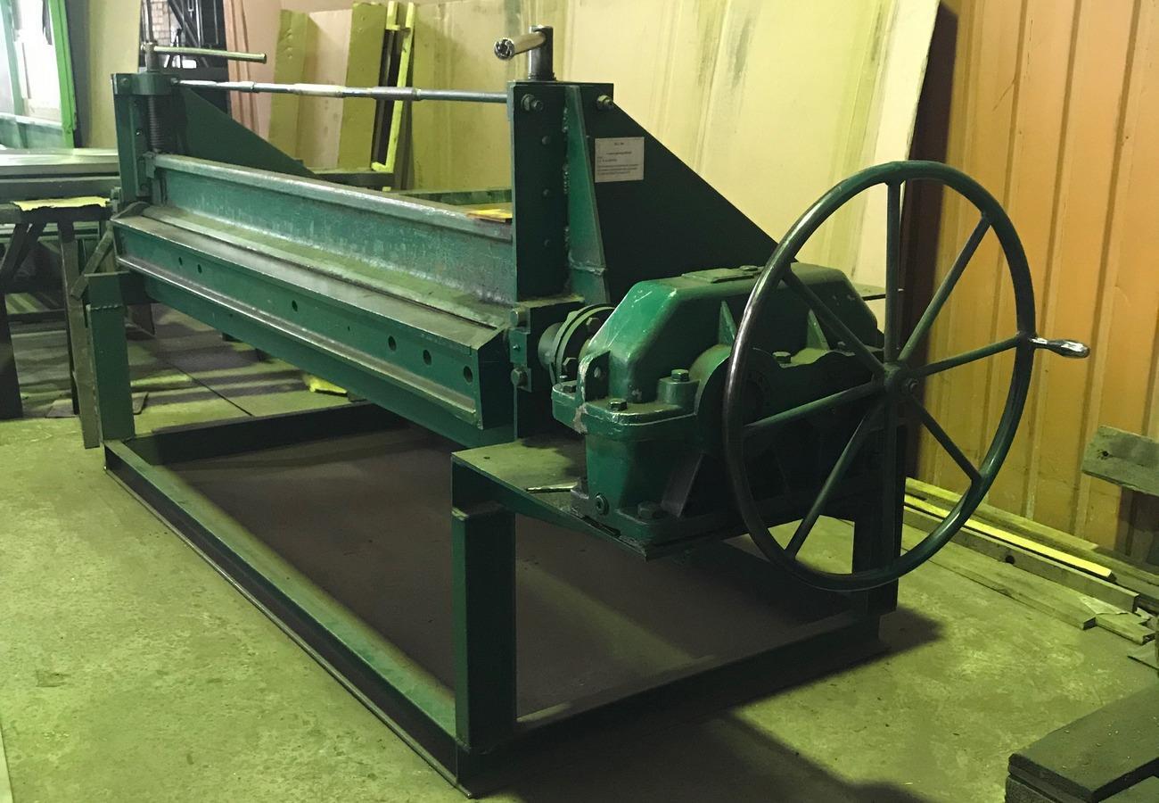Обладнання для згинання листового металу 2
