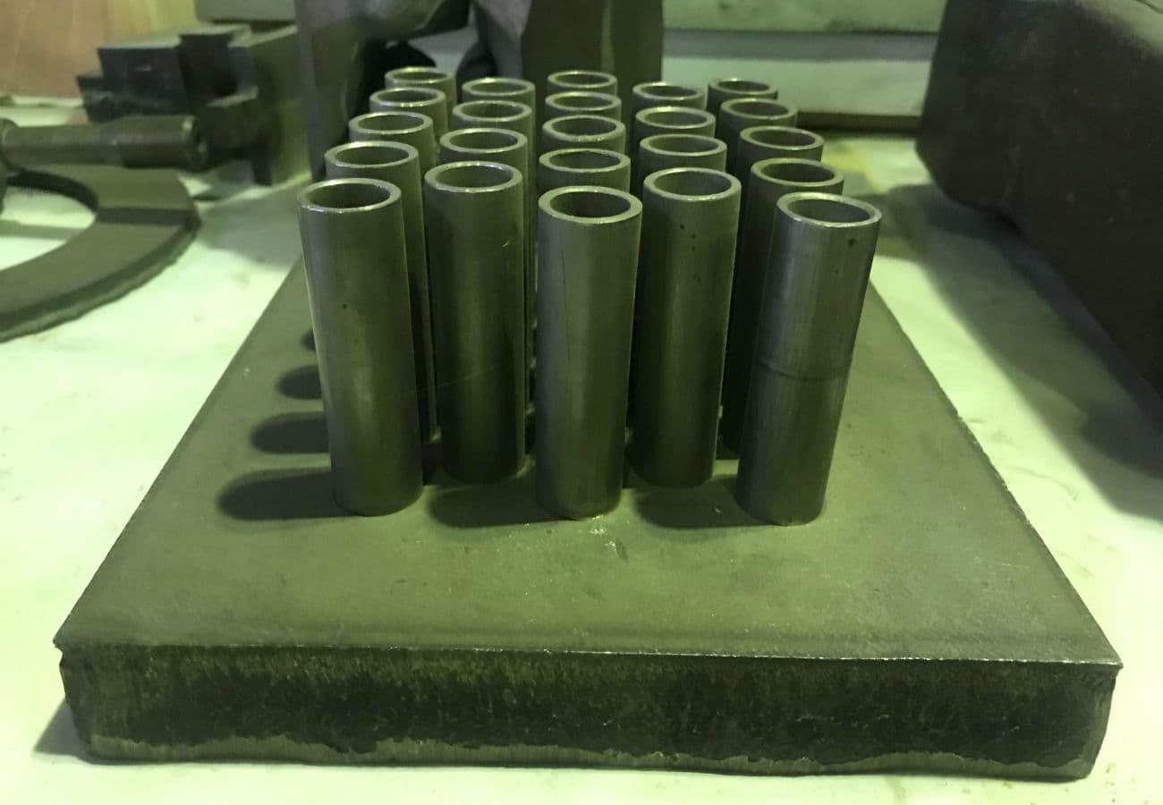 Трубні дошки зі сталі (елемент охолодження)