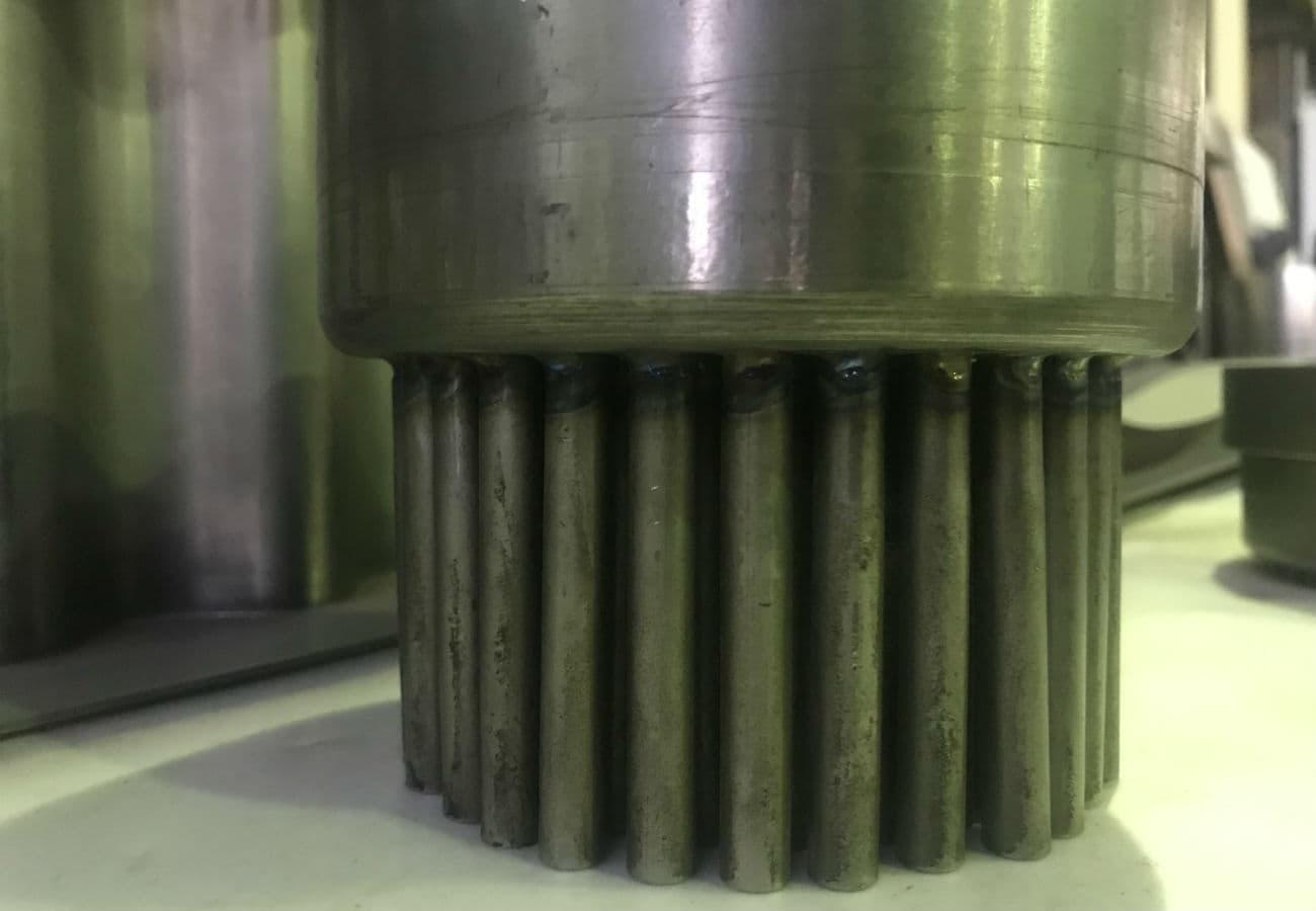 Електронно-променеве зварювання при виготовленні трубних дошок зі сталі - 03